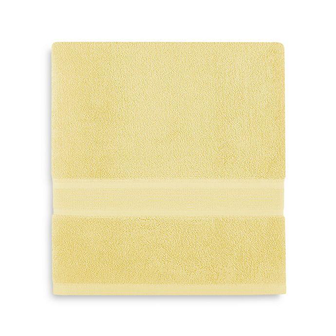Alternate image 1 for Wamsutta® Icon PimaCott® Bath Towel in Sunshine