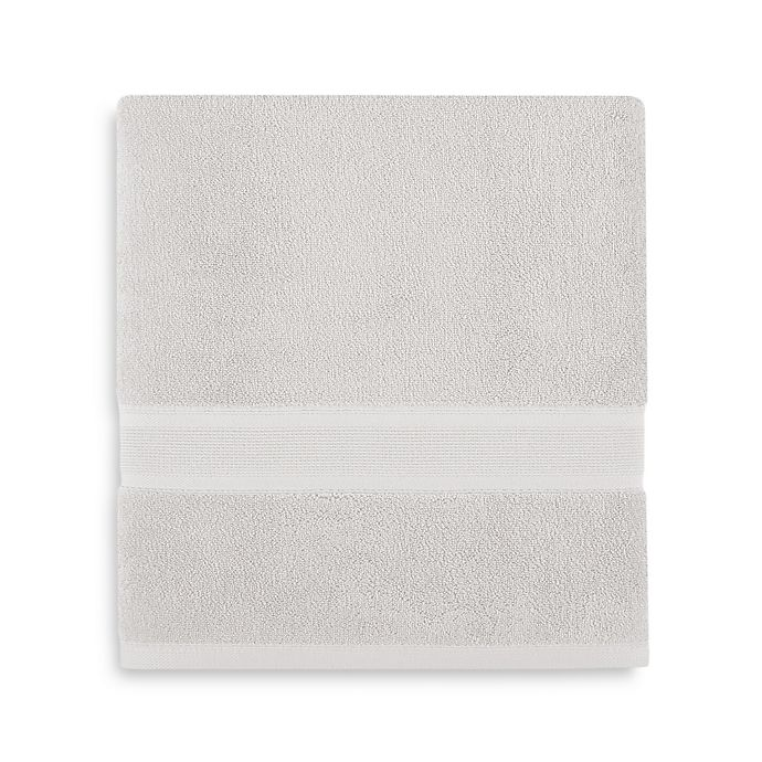Alternate image 1 for Wamsutta® Icon PimaCott® Bath Towel in Silver