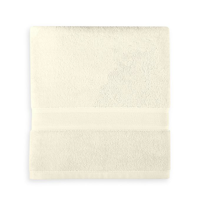 Alternate image 1 for Wamsutta® Icon PimaCott® Bath Towel in Ivory