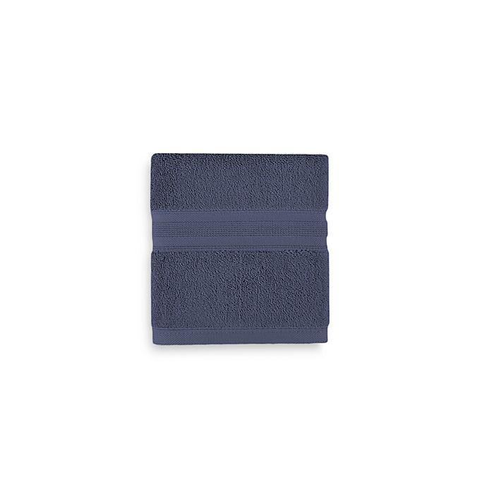 Alternate image 1 for Wamsutta® Icon PimaCott® Hand Towel in Royal Blue