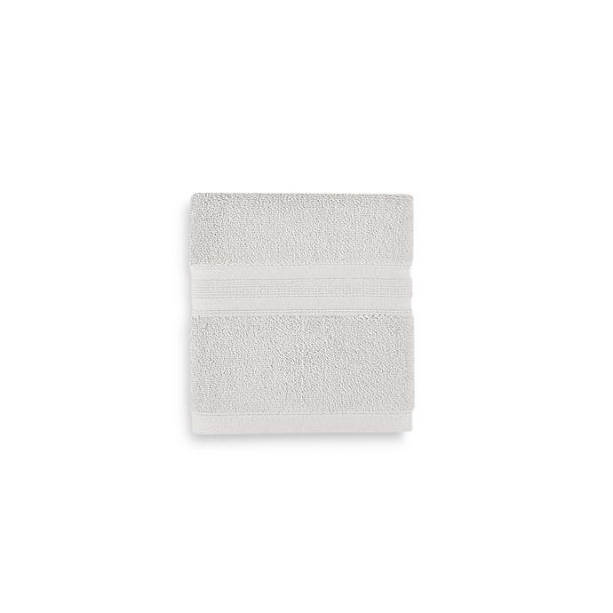 Alternate image 1 for Wamsutta® Icon PimaCott® Hand Towel in Silver