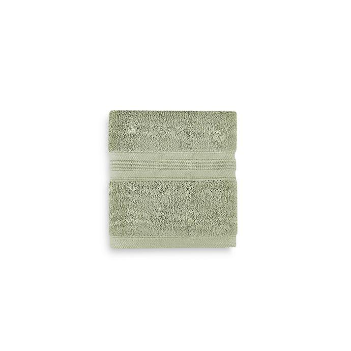 Alternate image 1 for Wamsutta® Icon PimaCott® Hand Towel in Basil