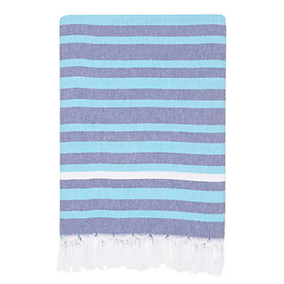 Linum Home Textiles Elegant Stripe Pestemal Beach Towel