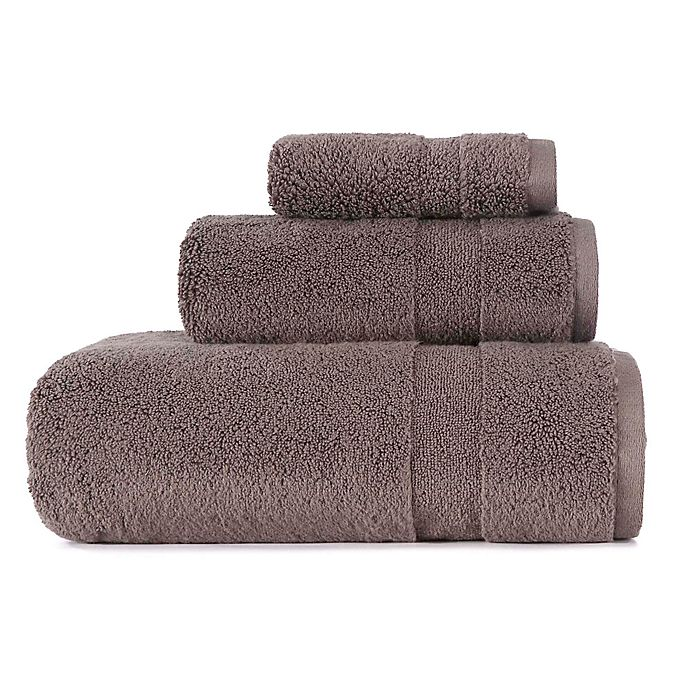 Alternate image 1 for ED Ellen DeGeneres 3-Piece Kindness Bath Towel Set in Charcoal