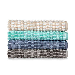 Style Lounge Geometric Cotton Bath Towel Collection