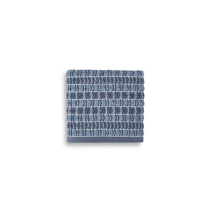 Alternate image 1 for Style Lounge Geometric Cotton Hand Towel in Indigo