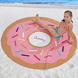 Donut 60-Inch Round Beach Towel