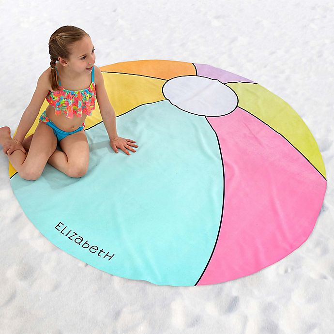 Alternate image 1 for Beach Ball 60-Inch Round Beach Towel