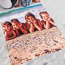 Time To Smile Photo Beach Blanket