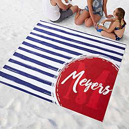 Stripes Beach Blanket