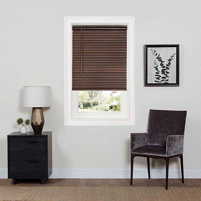 Alternate image 1 for Achim GII Deluxe Sundown Room Darkening 64-Inch Length Cordless Mini Blind