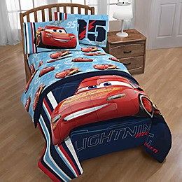 Disney® Pixar Cars 95 Reversible Comforter in Blue/Red