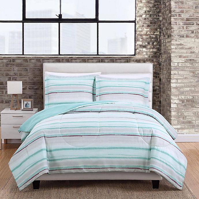 Alternate image 1 for Dayton Stripe 3-Piece Comforter Set