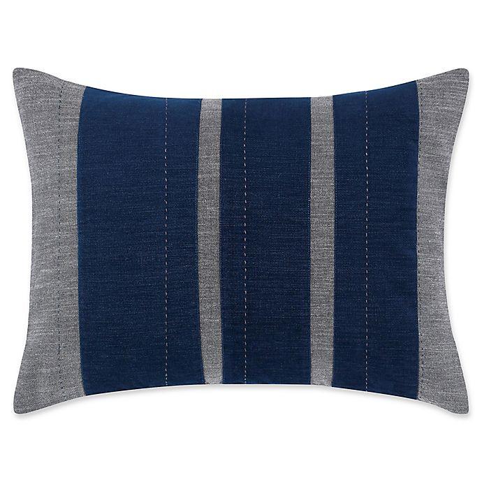 Alternate image 1 for ED Ellen DeGeneres Jaspe Velvet Breakfast Throw Pillow in Dark Grey