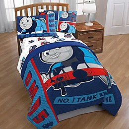 Mattel® Thomas the Tank Engine Hot Rod Reversible Twin Comforter in Blue/Red