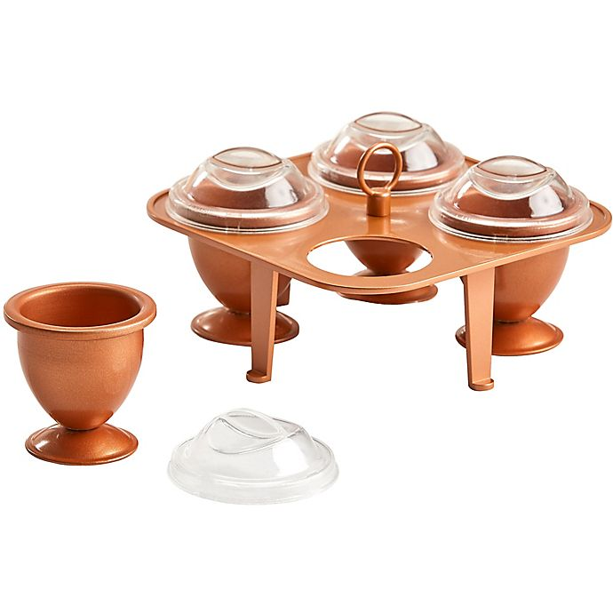 Alternate image 1 for Copper Chef Copper Eggs XL (Set of 4)