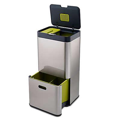 Joseph Joseph® Totem 60 Stainless Steel Waste Separation & Recycling Unit