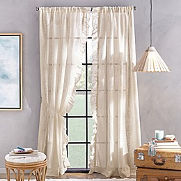 Peri Home Sadie Pole Top Window Curtain Panel