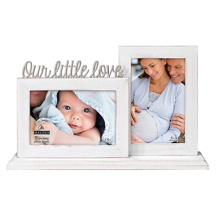 Alternate image 1 for Malden® Our Little Love 2-Photo Picture Frame