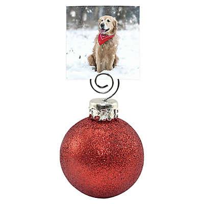 Glitter Ball Photo Holder