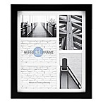 Gallery Matted Wood 5-Photo Picture Frame