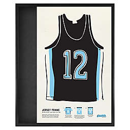 Collectible Jersey Shadowbox Frame in Black