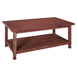 Alaterre Country Cottage Long Coffee Table