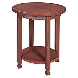 Alaterre Country Cottage Round End Table
