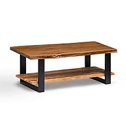 Alaterre Alpine Wood and Metal Coffee Table