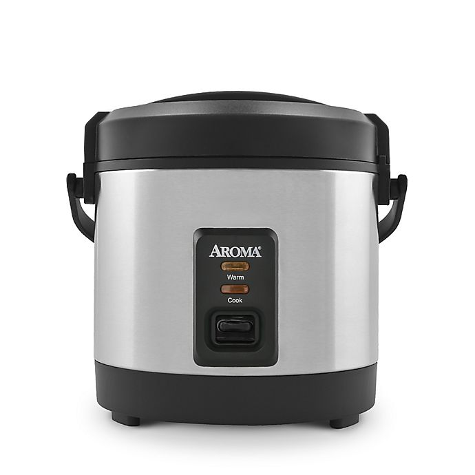 Alternate image 1 for Aroma® 5-Cup Stainless Steel Rice Cooker
