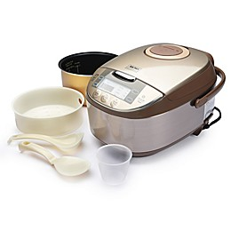 AROMA® Professional 12-Cup Rice Cooker in Champagne/Stainless Steel