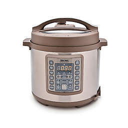 AROMA® 6 qt. Digital Pressure Cooker/Multi-Cooker in Champagne/Stainless Steel