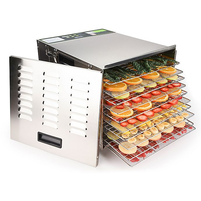 Alternate image 1 for Aroma® Professional™ 10-Tray Digital Food Dehydrator
