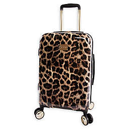 Bebe Adriana 21-Inch Hardside Spinner Carry On in Leopard