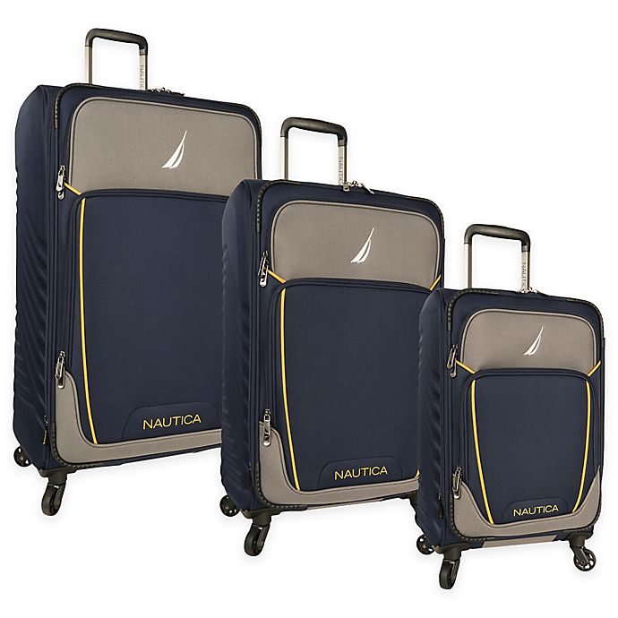 315a340ff Nautica® Dockyard 3-Piece Expandable Spinner Luggage Set | Bed Bath ...