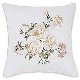 Nostalgia Home™ Juliette Square Throw Pillow in Ivory