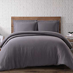 Brooklyn Loom Linen 3-Piece Duvet Cover Set