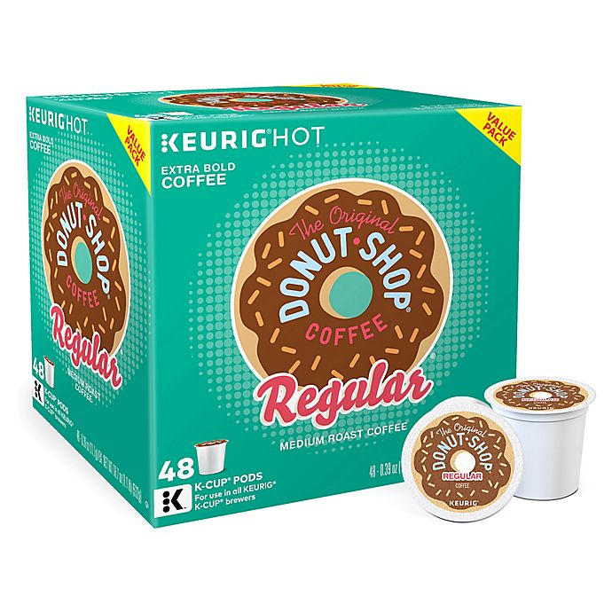Alternate image 1 for The Original Donut Shop® Regular Coffee Value Pack Keurig® K-Cup® Pods 48-Count