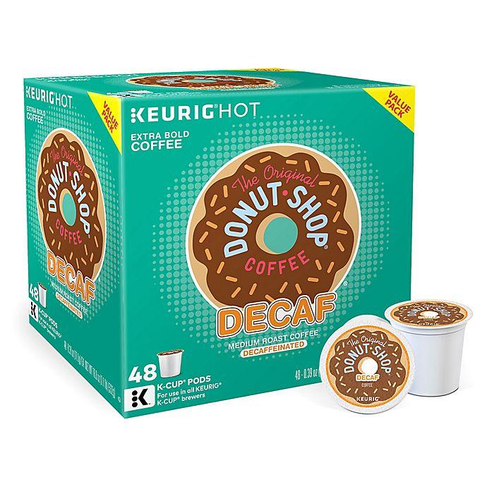 Alternate image 1 for The Original Donut Shop® Decaf Coffee Value Pack Keurig® K-Cup® Pods 48-Count