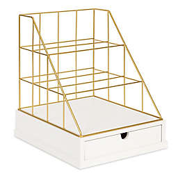 Kate and Laurel® Benbrook Letter Tray Organizer
