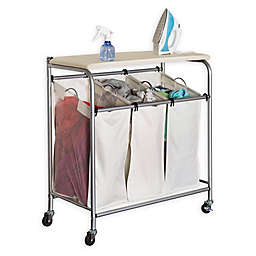 Honey-Can-Do® Ironing and Triple Sorter Laundry Center