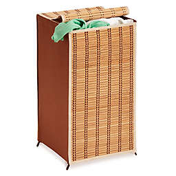 Honey-Can-Do® Tall Wicker Hamper