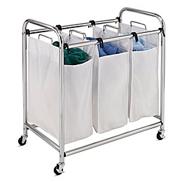 Honey-Can-Do® Heavy Duty 3-Section Laundry Sorter