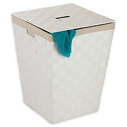 Honey-Can-Do® Woven Paper Rope Hamper with Liner
