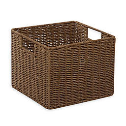 Honey-Can-Do® Paper Rope 12-Inch x 13-Inch Storage Crate