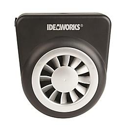 IdeaWorks® Solar Auto Fan in Black/Silver