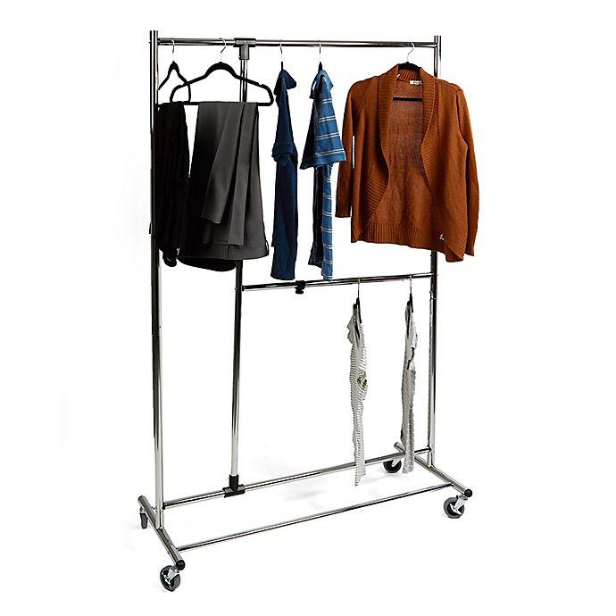 Alternate image 1 for Mind Reader Heavy Duty Multi-Pole Garment Rack