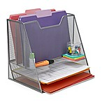 Mind Reader 5-Compartment Mesh Desk Storage Organizer