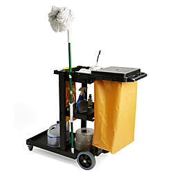 Mind Reader Commercial Janitorial Utility Cart