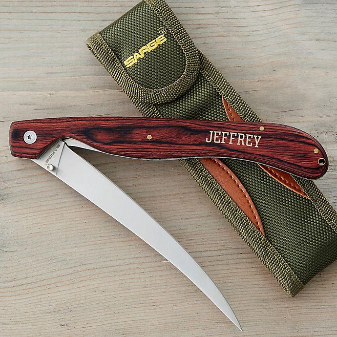 Alternate image 1 for Sarge O'Fishal Fish Fillet Knife